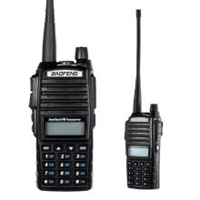 -Original BAOFENG UV-82 VHF/UHF Dual Band Handheld Transceiver Interphone with LCD FM Radio Receiver 5W 128 Memory Channels CB Radi on JD