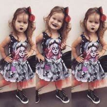 -Toddler Kids Baby Girls Halloween Tops Vest Skirt Dress Outfits Clothes Set on JD