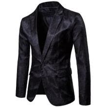 -Fashion Mens Suit Blazer Casual Slim Fit One Button Tuxedo Formal Suit Coat Jacket Top Hot Sale on JD