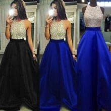 -Women Formal Wedding Bridesmaid Long Evening Party Ball Prom Gown Cocktail Dress on JD