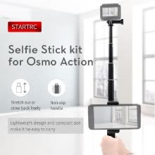 -STARTRC Handheld Expansion Selfie Stick Holder for DJI OSMO Action/Insta360 ONE/ONE X/EVO Camera on JD