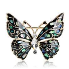 -Blucome Butterfly Brooch Women Fashion Accessories 7218 on JD