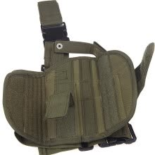 gym-bags-Outdoor Hunting Shooting Gear Holster Thigh Leg Gear Holster Pouch Wrap-around with Coil Lanyard on JD
