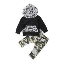 -Newborn Baby Kids Boys Camouflage Long Sleeve Hoodies + Long Pants Outfit Set on JD