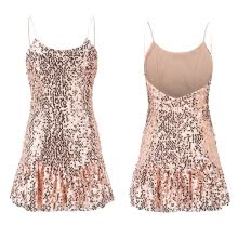 -〖Follure〗Women's Ladies Sequined Bling Shiny Party Pencil Midi Dress Bandage Dresses on JD