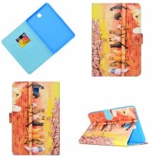 -BannerLive TPU Case for Samsung Galaxy Tab A 8.0 T350 Cover SamsunT350 Funda Coque Marble Magnolia Flower Forest  Cat  Butterfly on JD