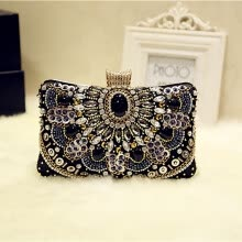 -Tailored Women Vintage Handmade Evening Handbag Party Clutch Purse Shoulder Cross Bag on JD