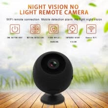 -Mini Wireless WiFi Camera 1080P HD Ip Camera Remote Monitor Playback Video Security Camera Motion Detection Night Vision(480TVL) on JD