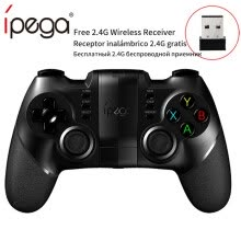 -Ipega 9076 PG-9076 Bluetooth Gamepad Game Pad Controller Mobile Trigger Joystick para Android Cell Smart Phone PC Hand Free Fire on JD