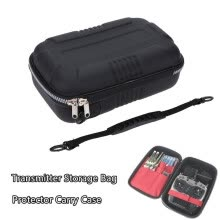 -Siaonvr Universal RC Transmitter Storage Bag Protector Case For FS-I6  AT9S AT10 FUTABA on JD