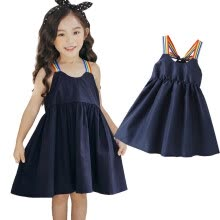 -1-6Y Kids Toddler Baby Girl Summer Party Dress Princess Sundress Sun Dress on JD