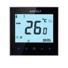 -16A 110-230V Weekly Programmable LCD Display Touch Screen Electric Heating Thermostat Room Temperature Controller on JD