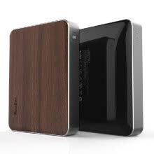 -Besiter Portable Charger 13400mAh Large Capacity Safe Power Bank Wooden Front-panel Quick Charge 2.0 for iPhone 6 6 Plus   Samsung on JD