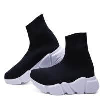 3f5e79152 High Quality Luxury Sock Shoe Speed Trainer Running Sneakers Speed Trainer  Sock Race Runners black Shoes men and women Sports Shoe