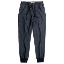 -AK Men's Wear (AKSERIES) Light Vintage Imitation Denim Texture Knit Jogging Pants 1952200 Denim Blue XXL on JD