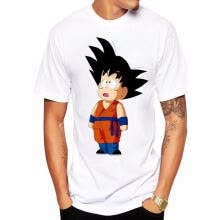 -New 3D Mens Modal Dragon Ball T Shirt Short Sleeve O-Neck Men Shirts Saiyan Summer Brand Clothing P12z6-6 on JD