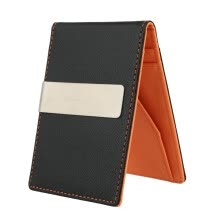 -Cute New Fashion Men Money Clip Faux Leather Slim Wallet ID Credit Card Holder Cash Clip cluth bag T7J6F3O0 on JD