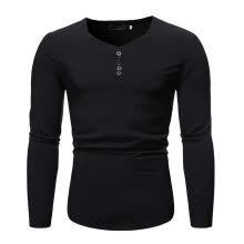 -(Toponeto) Men's New Style Simple Pure Long Sleeve Top Fashion And Comfortable Blouse on JD