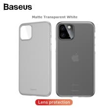 -Baseus matte protective case for iPhone 11/11 Pro/11 Pro Max 2019 new model curved tight protection phone cover on JD
