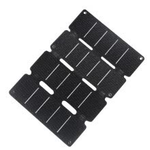 -5V Solar Panel Outdoor Portable Folding Solar Generator Ultrathin Emergency Solar Charging Board on JD