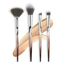 -(Toponeto) 4Pcs/Set Cosmetic Makeup Brush Brushes Set Foundation Powder Eyeshadow on JD