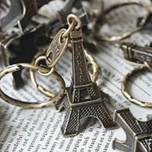 -Siaonvr Cute Adornment 3D Eiffel Tower French Souvenir Paris Keychain Novelty on JD