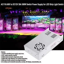 -〖Follure〗DC 12V 30A 360W Universal Regulated Switching Power Supply LED 3D PSU on JD