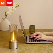 lamps-light-fixtures-Xiaomi Mi Yeelight YLFW01YL Smart Candela Light 6W LED Wireless Mijia App Control Yellow Home Light For Atmosphere Lamp Bedroom on JD