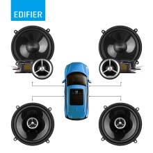 -Edifier car audio modified GF600A speaker set 6-inch universal set speaker car audio including tweeter direct push on JD