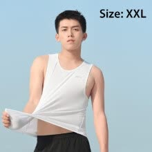 -Xiaomi Zaofeng Sports Vest Fast Drying Fitness Cloth Outdoor Running Training Exercise Shirt Sleeveless Slim Fit Sportswear on JD