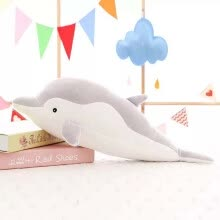 -Tailored Dolphin Doll Cute Plush Toy For Girlfriend Valentine's Day Gift Dolphins Pillow on JD