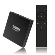 -MECOOL KM9PRO CLASSIC Smart Android 9.0 TV Box UHD 4K Медиа-плеер Amlogic S905X2 Голосовой пульт дистанционного управления 2 ГБ / 16 ГБ Google Certifica on JD