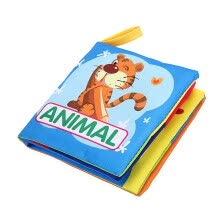 -Soft Cloth Book Baby Kids Children Early Educational Cartoon Book Toys on JD