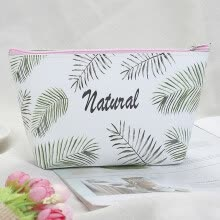 -Gobestart Cosmetics Bag Portable  Leather Printed Waterproof Makeup Bag for Shopping 1pc on JD