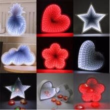 -Pineapples Style 3D Night Light Cute Led Lights For Kid Baby Sleeping Room Wall Decor Lamp Christmas Holiday Toy Gifts on JD