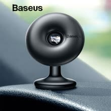 -Baseus Car Holder for Mobile Phone 360 Degree Air Vent Car Mount Holder Stand for iPhone X 7 Samsung Magnetic Phone Holder on JD