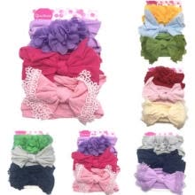 -Cute Kids Girl Baby Headband Infant Newborn Flower Bow Hair Band Accessories US on JD