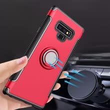 -Magnetic Car Holder Case 360 Rotating Finger Ring Phone Cover For Samsung Note 9 Mobile Phone on JD