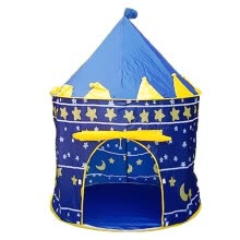 -〖Follure〗Princess Children Tent Game House Ball Pool Tent Baby Crawling Toy House Blue on JD