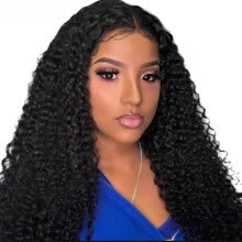virgin-hair-Good Quality Unprocessed Brazilian Kinky Curly Virgin Human Hair 3Bundles Weave Top Selling Virgin Brazilian Kinky Curly Hair on JD