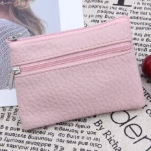 -Women Men Leather Wallet Multi Functional zipper Leather Coin Purse Card Wallet on JD
