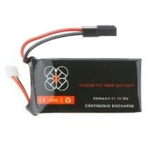 -High Quality Upgrade Lipo Battery 11.1V 2500mah 20C for Parrot AR.Drone 2.0 Quadcopter on JD