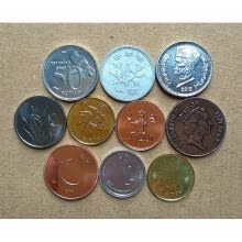 -10 PCS Set Coins Of Asia-Pacific States on JD
