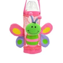 -2020 New Baby Kids Cartoon Animal Plush Design Bottle Buddy Bottle Holder Strap Outdoor Bottles Holder  Bag on JD