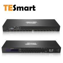 -TESmart Rack Mount Ultra HD 4K HDMI 8X8 Matrix Switcher Supports 4Kx2K@30HZ,1080P@60Hz,3D&Deep Color,LAN Port Control,HDMI 1.4 on JD