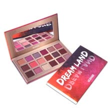 -18 Colors Glitter Pigmented Eyeshadow Palette Shimmers Eye Matte Makeup Powder on JD