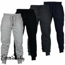 -Men's Sport Pants Long Trousers Tracksuit Fitness Workout Joggers Gym Sweatpants on JD