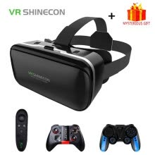 -VR Shinecon 6.0 Casque Virtual Reality Glasses 3 D 3d Goggles Headset Helmet For iPhone Android Smartphone Smart Phone Lens Set on JD