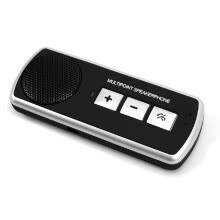 -Classic Car BT4.1 Auto Sun Visor BT Speakerphone MP3 Music Player Wireless Receiver Speaker Two Mobile Phones Connection on JD