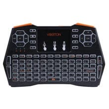 -2.4GHz Wireless LED Colorful Backlit Keyboard Multi-touch Pad Air Mouse Gamepad For PC Laptop Tablet on JD